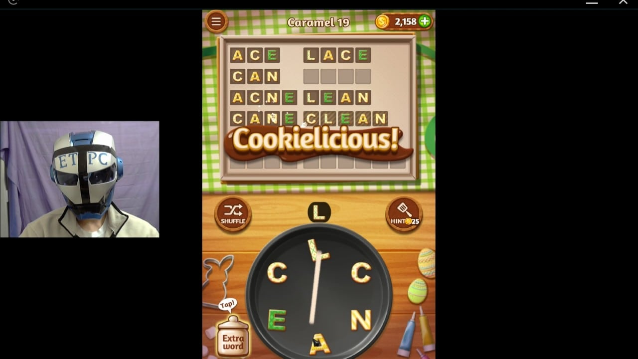 Word Cookies Caramel 19 Solved