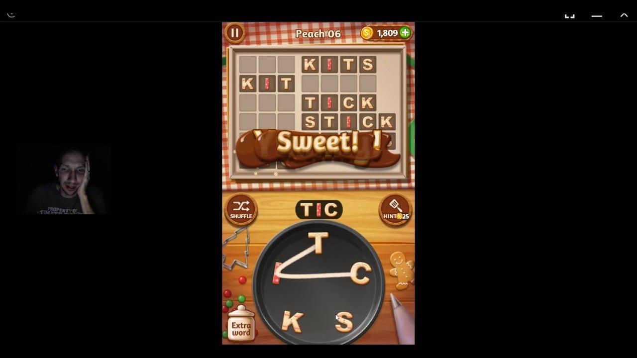 Word Cookies Peach 06