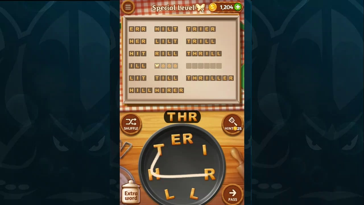 Word Cookies Walkthrough Coffee Level 5 Special Level Solved