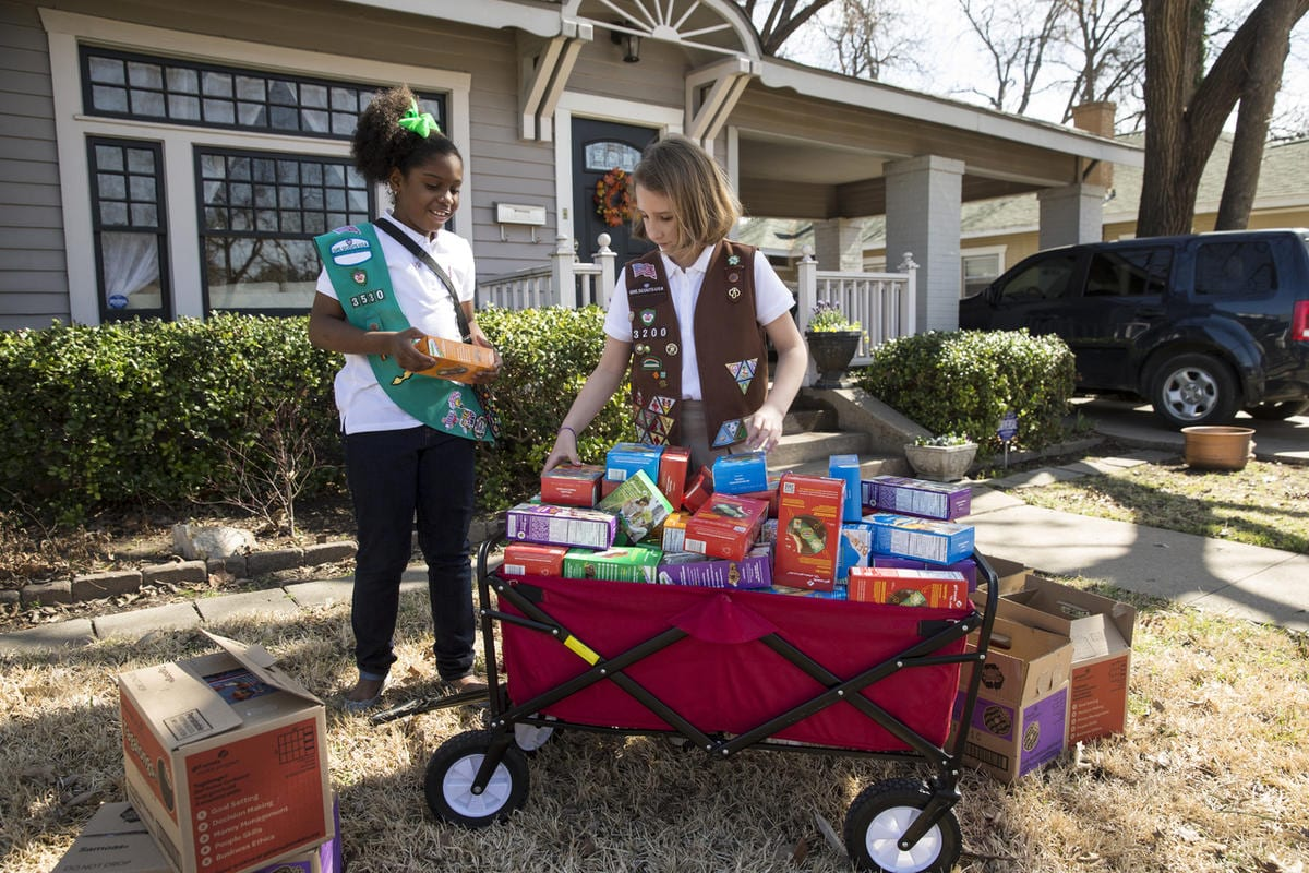 2017 Marks 100 Years Of Selling Girl Scout Cookies