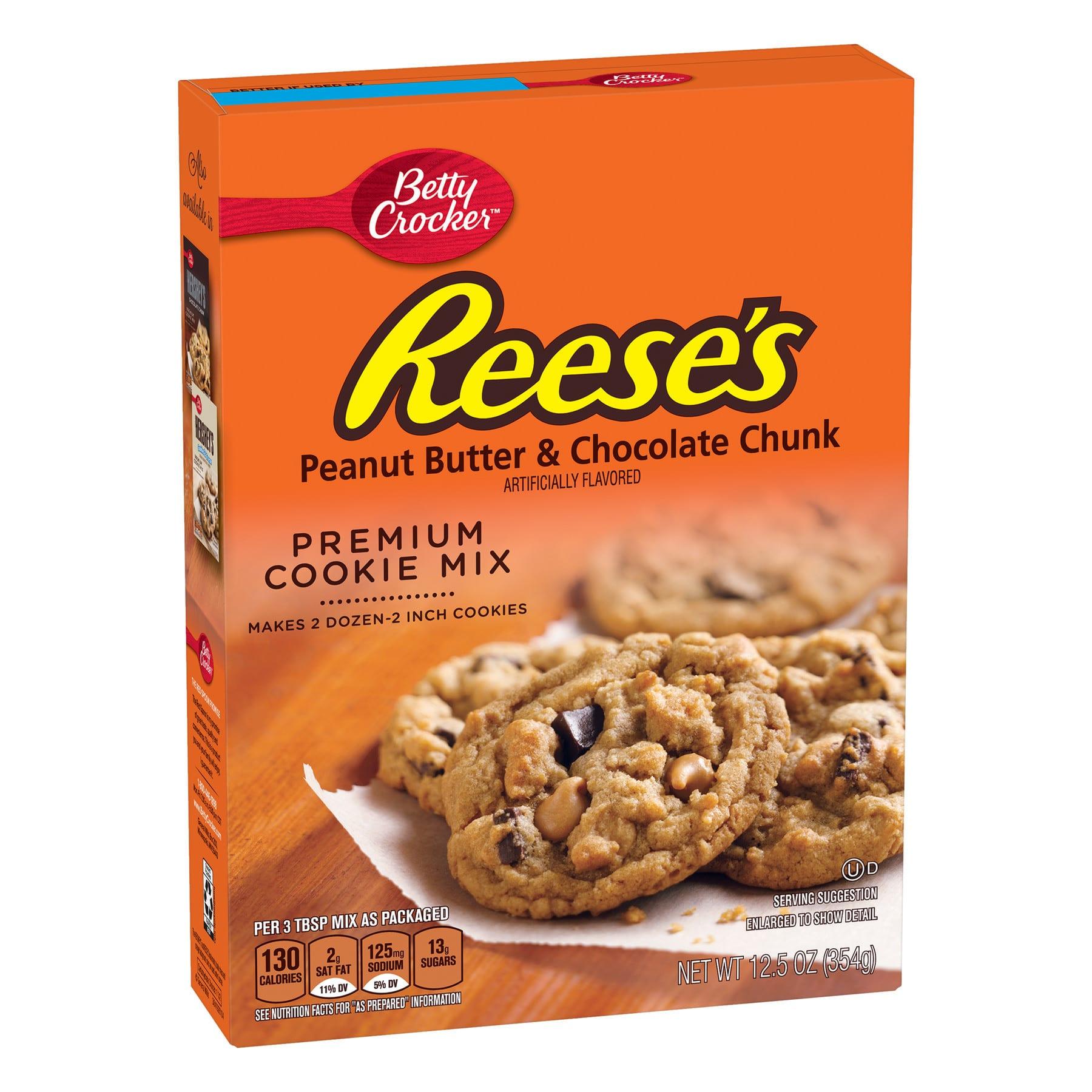 3 Ingredients Peanut Butter Cookies Betty Crocker Reese S Peanut