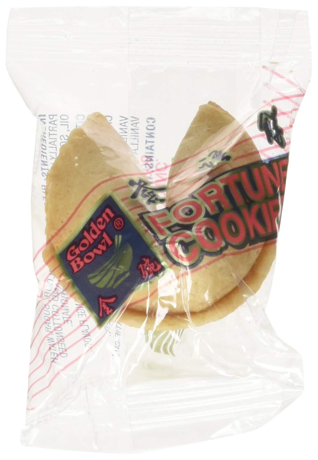 Amazon Com  100 Pcs Fortune Cookies Fresh Chocolate Flavo(golden Bowl)