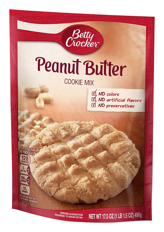 Amazon Com   Betty Crocker Cookie Mix, Peanut Butter, 17 5 Oz