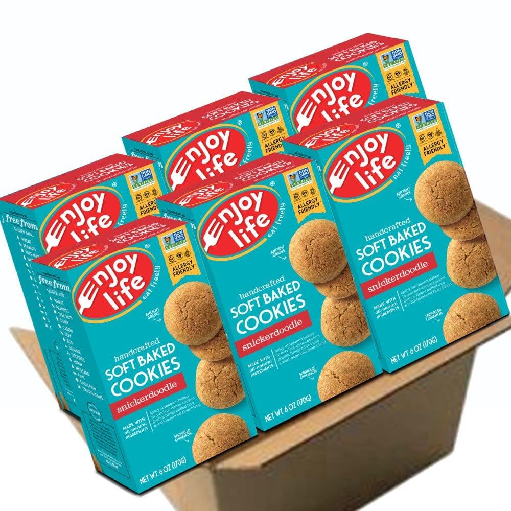Amazon Com  Enjoy Life Soft Baked Cookies, Soy Free, Nut Free