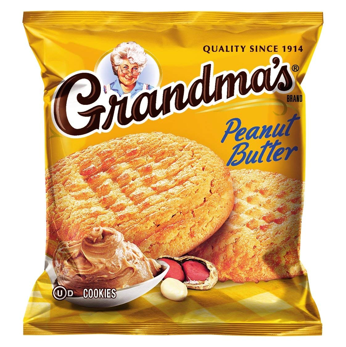 Amazon Com  Grandma's Peanut Butter Cookies, 2 5 Ounce (pack Of 60)
