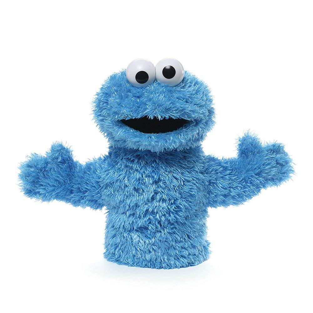 Amazon Com  Gund Sesame Street Cookie Monster Hand Puppet  Toy
