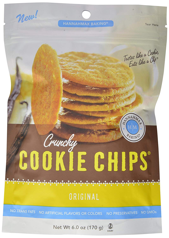 Amazon Com  Hannahmax Cookie Chips Bundle, 6oz, (pack Of 3)