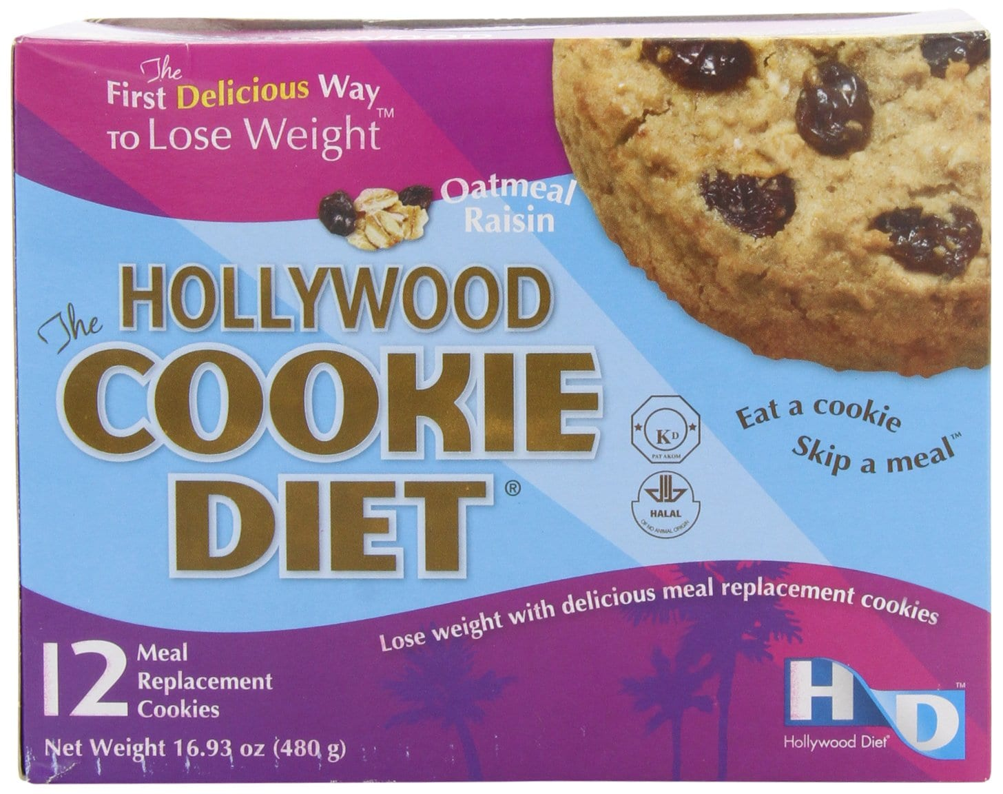 Amazon Com  Hollywood Cookie Diet Meal Replacement Cookies