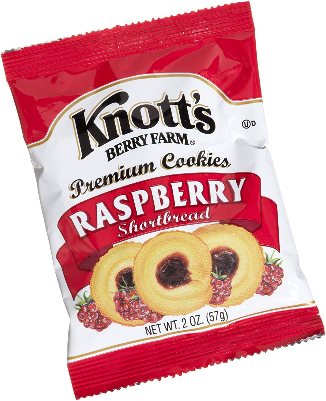 Amazon Com  Knott's Berry Farm Raspberry Shortbread Cookie, 2