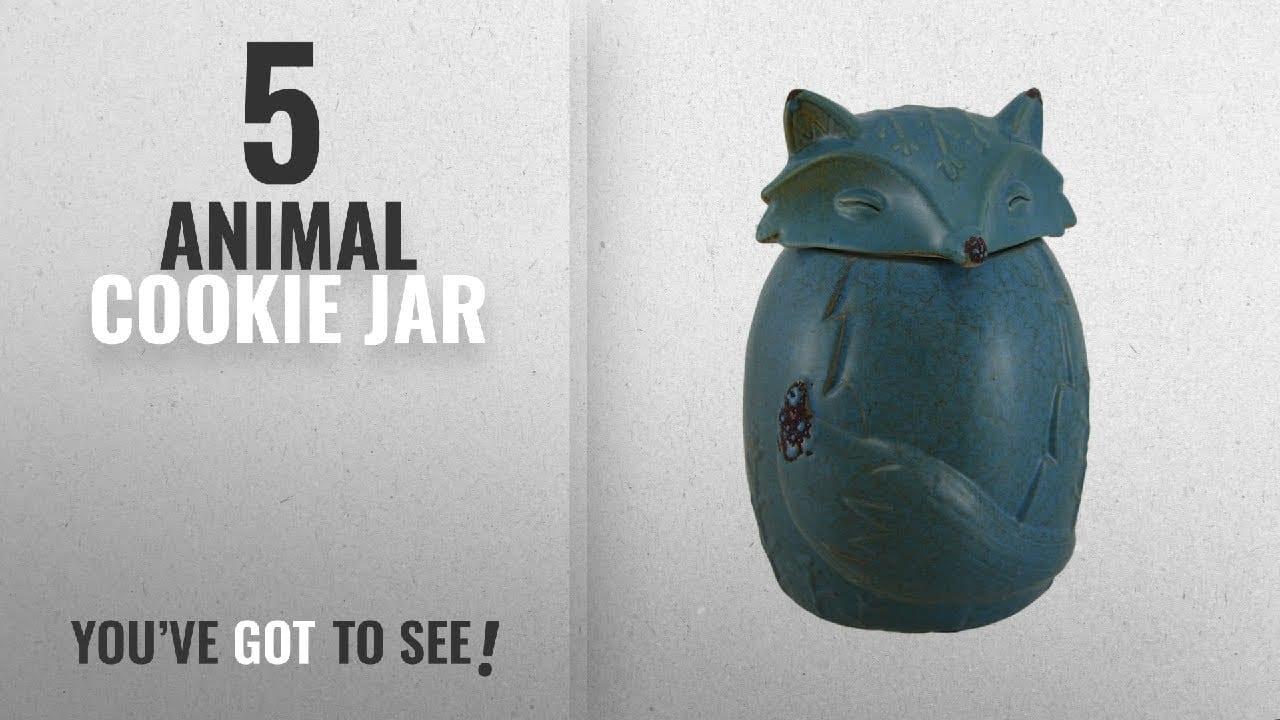 Best Animal Cookie Jar [2018]  Ceramic Cookie Jars Blue Ceramic