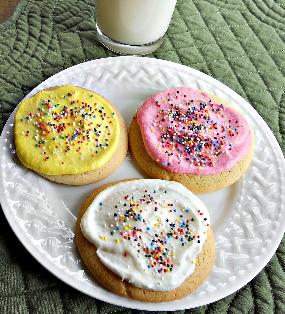 Best Ever Sugar Cookies With Buttercream Frosting