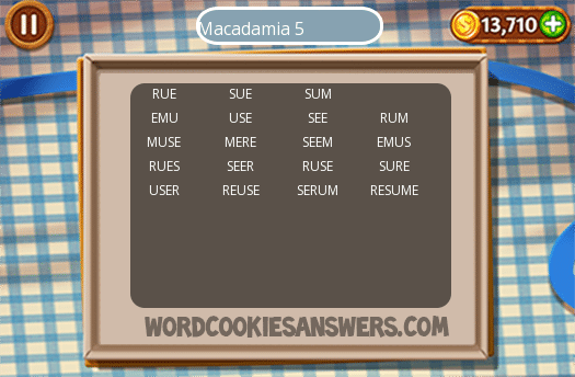 Best Word Cookies Macadamia 5 Image Collection