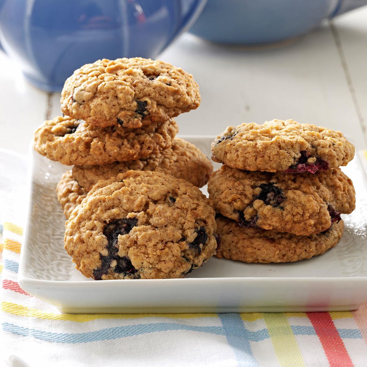 Blueberry Oat Cookies Recipe