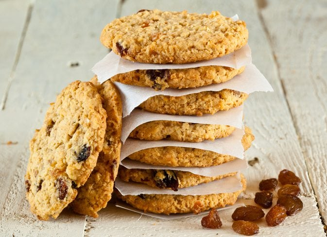 Calories In Oatmeal Raisin Cookie