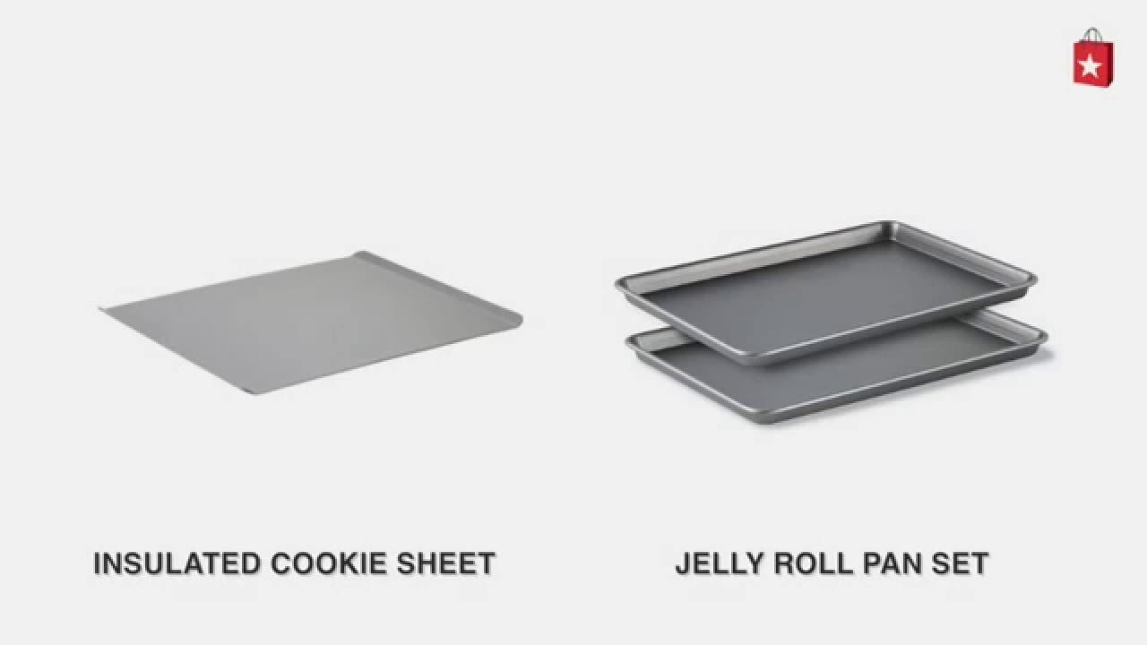 Calphalon Nonstick Large Insulated Cookie Sheet Comparison Video
