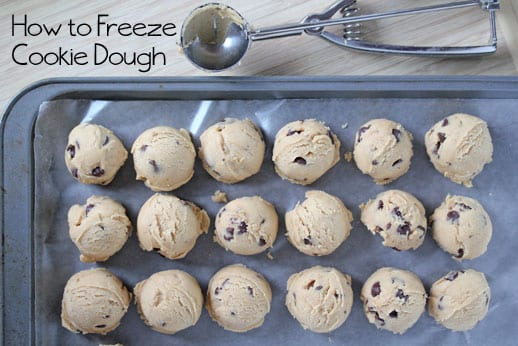 Can You Freeze Cookie Dough