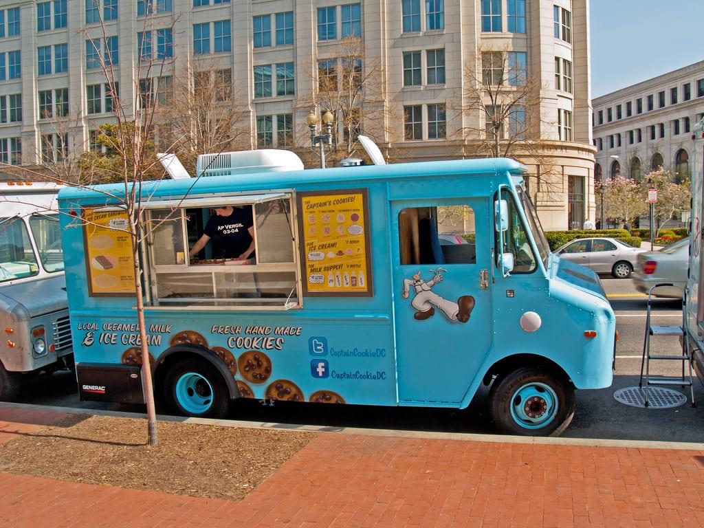 Captain Cookie Food Truck