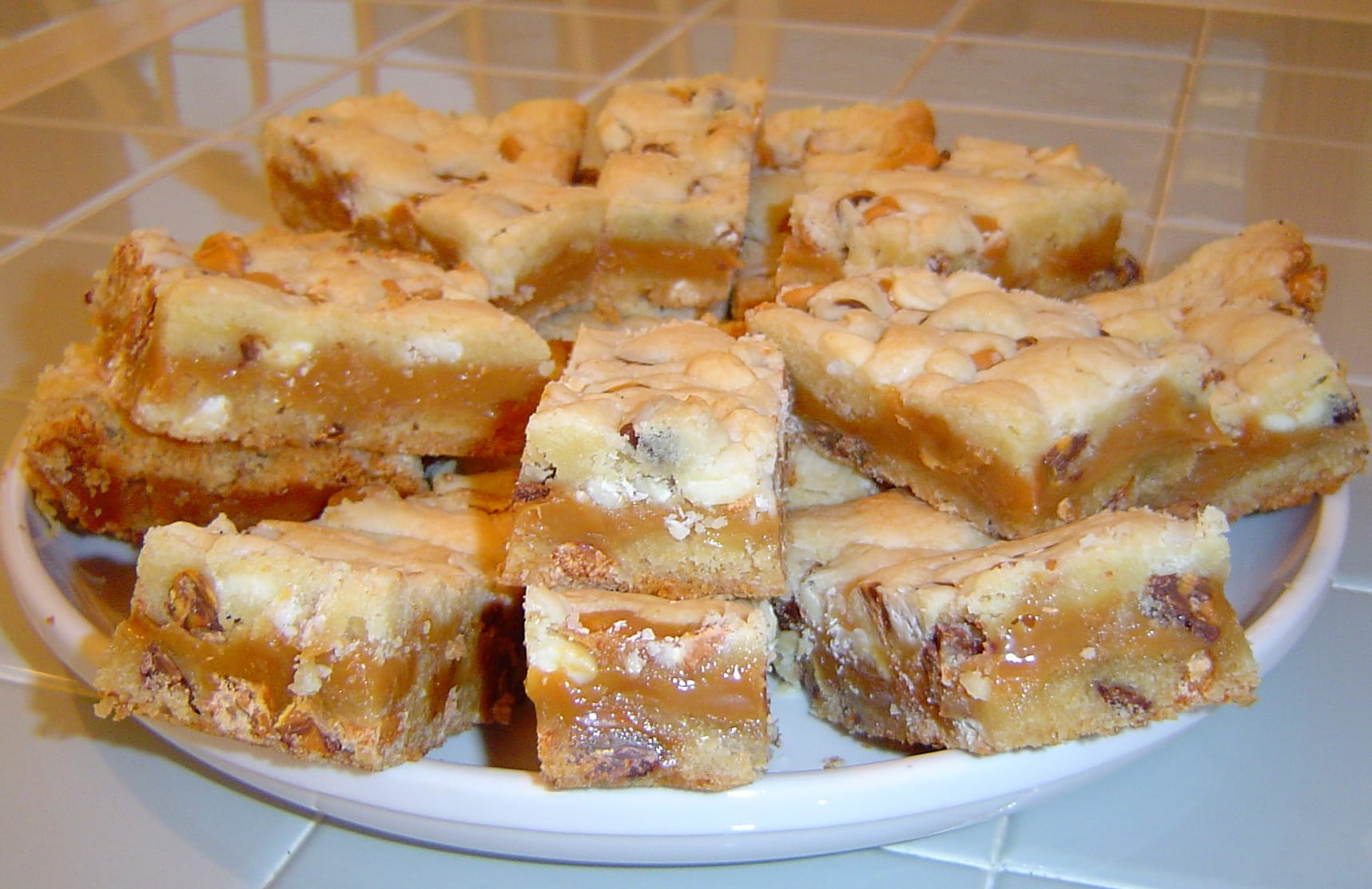 Caramel Chip Bars!!!