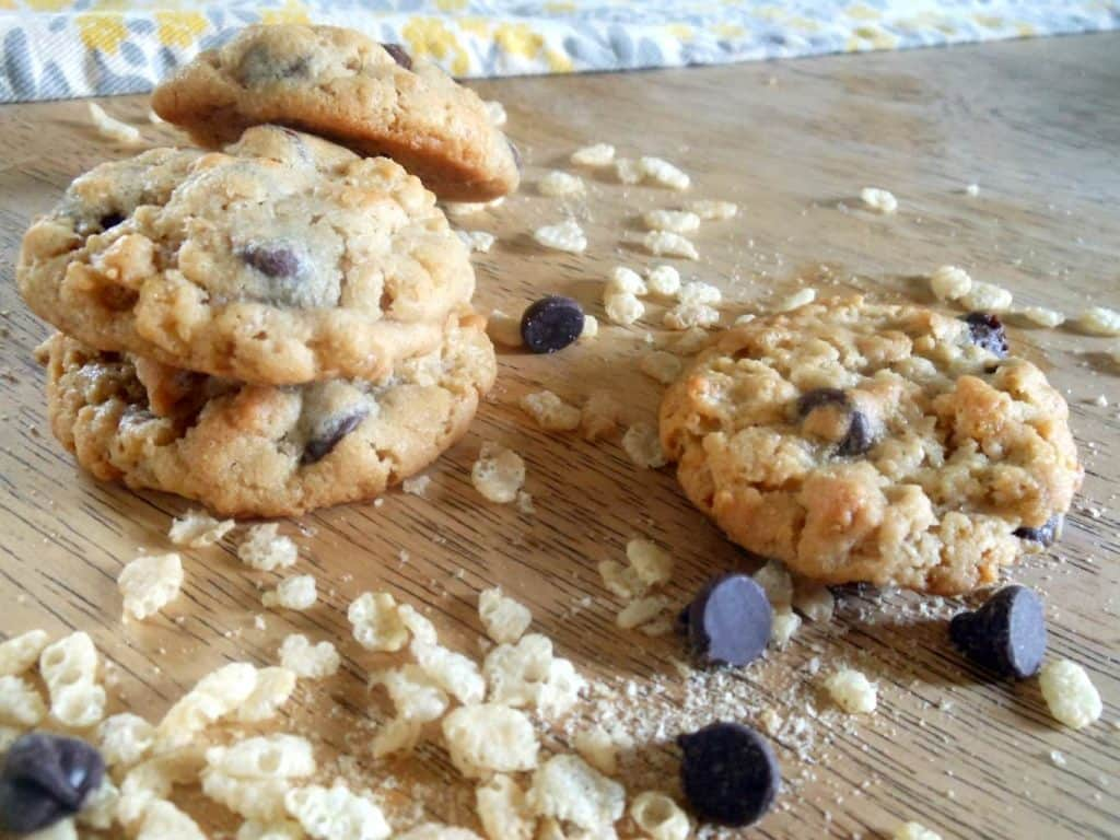 Cereal Crunch Chocolate Peanut Butter Cookies