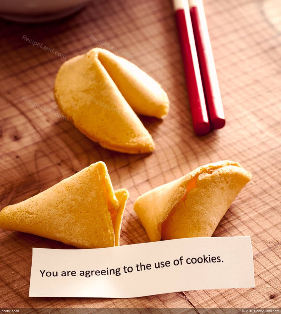 Chinese Fortune Cookies Recipe
