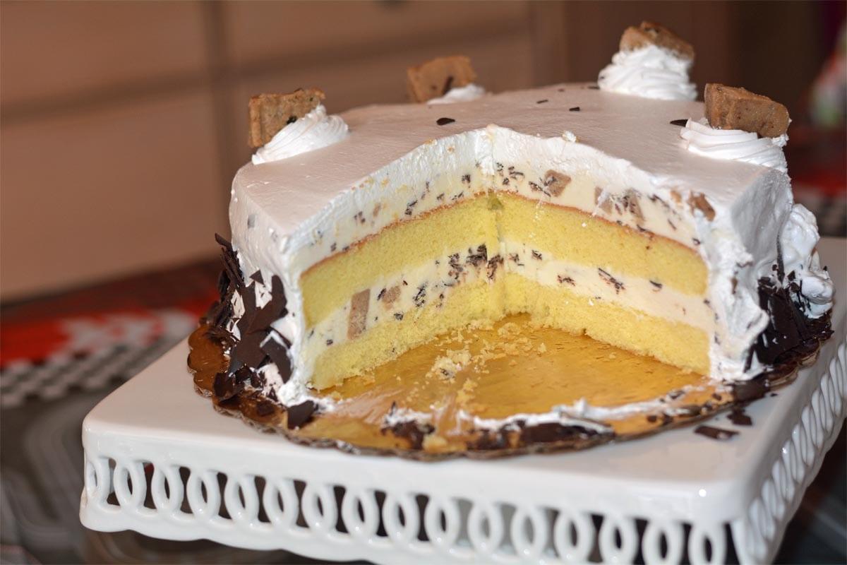 Chocolate Chip Cookie Dough Ice Cream Cake Coldstone Creamery