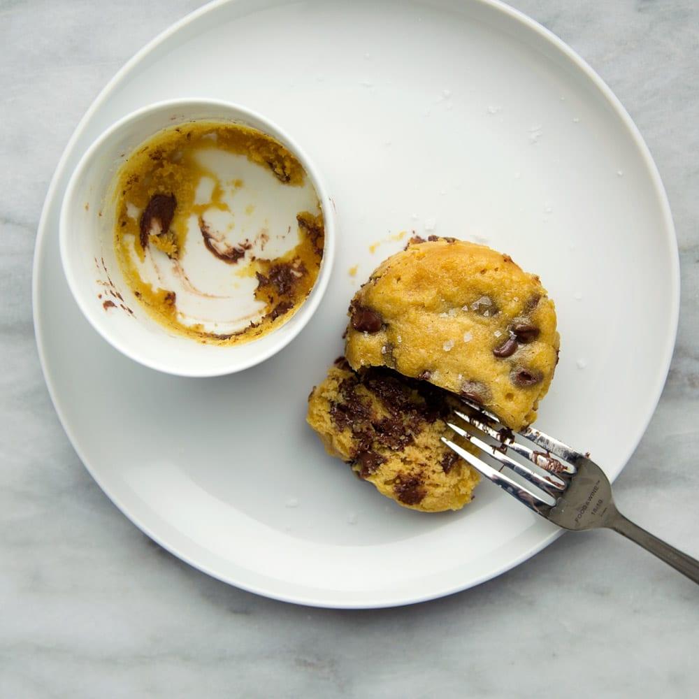 Chocolate Chip Cookie In A Mug Recipe