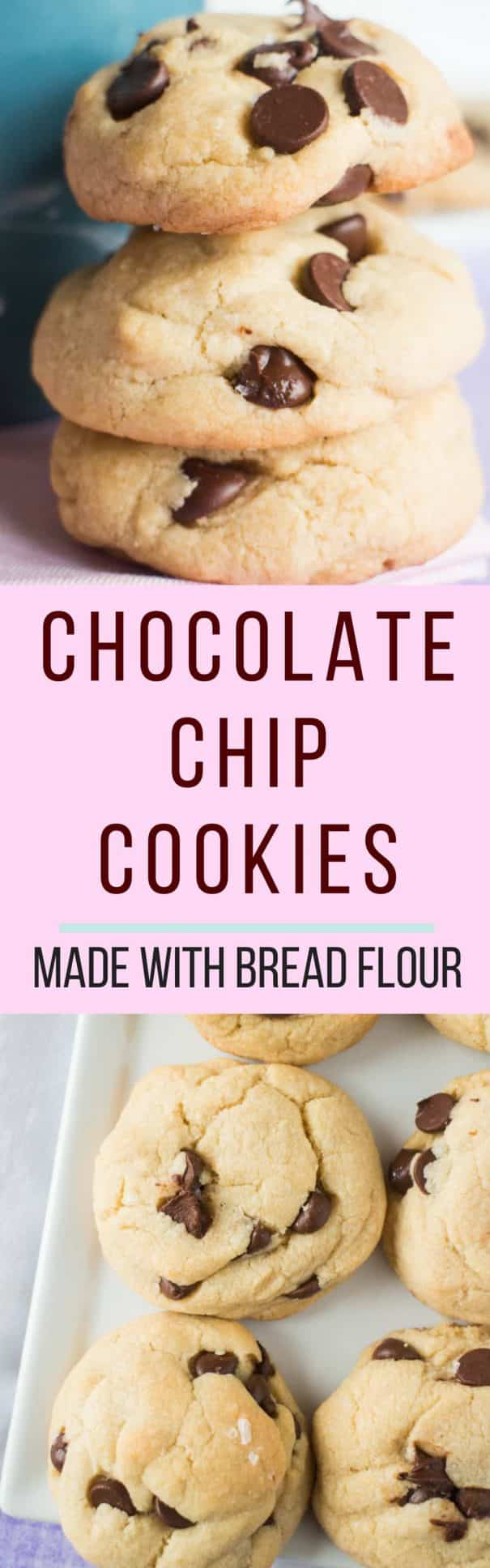 Chocolate Chip Cookies Made With Bread Flour