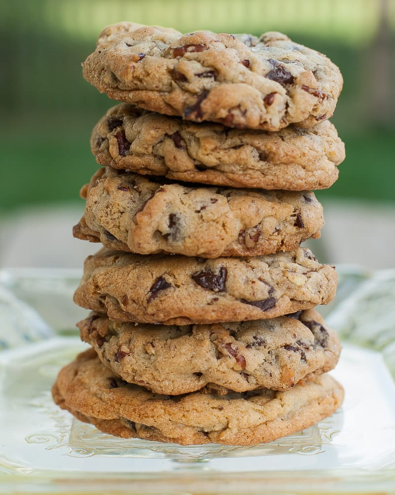 Chocolate Chip Cookies With Salted, Roasted Pecans