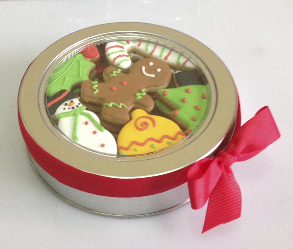 Christmas Cookie Tin