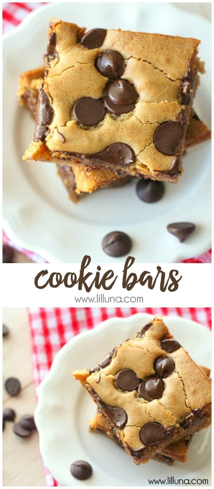 Cookie Bars Recipe  An Easy Dessert To Take To A Party
