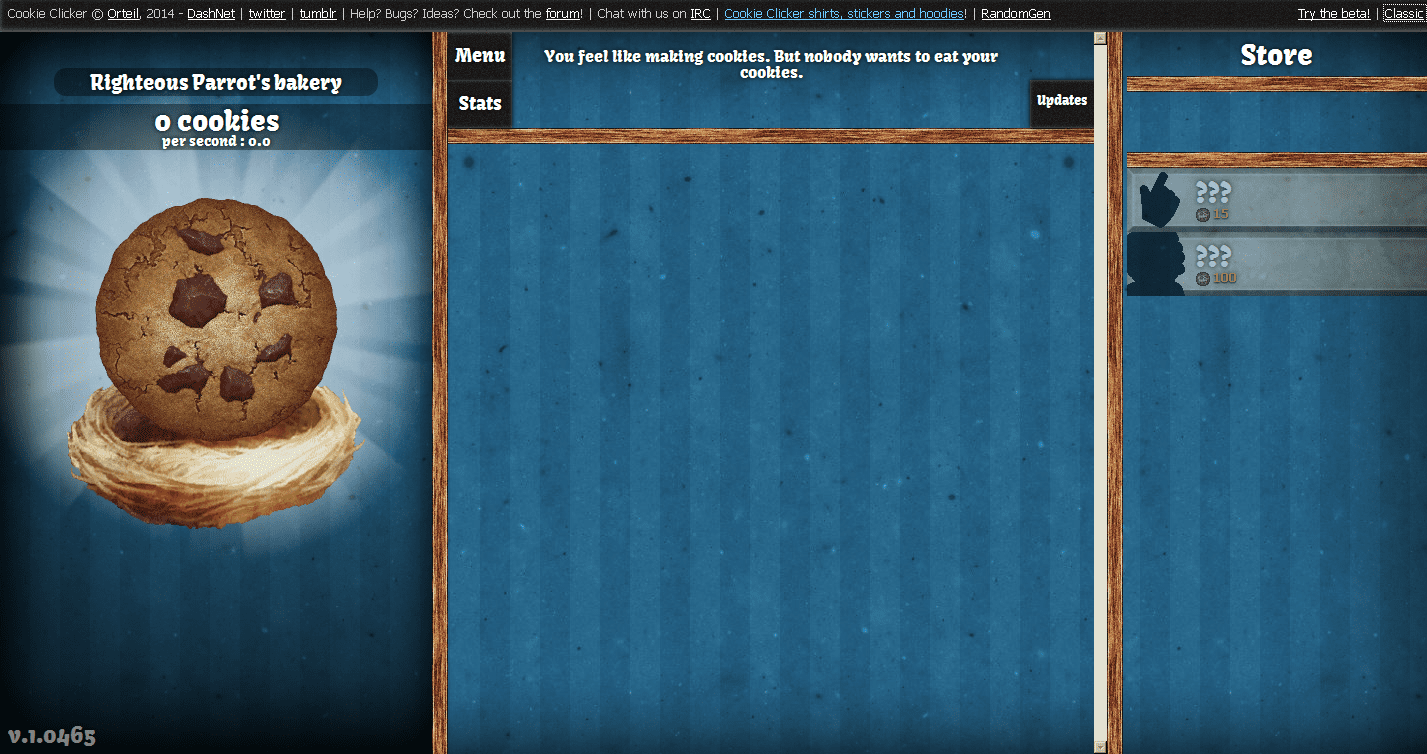Cookie Clicker Screenshots For Browser