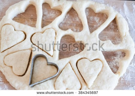 Cookie Cutters Heart Cut Out Cookie Stock Photo (edit Now