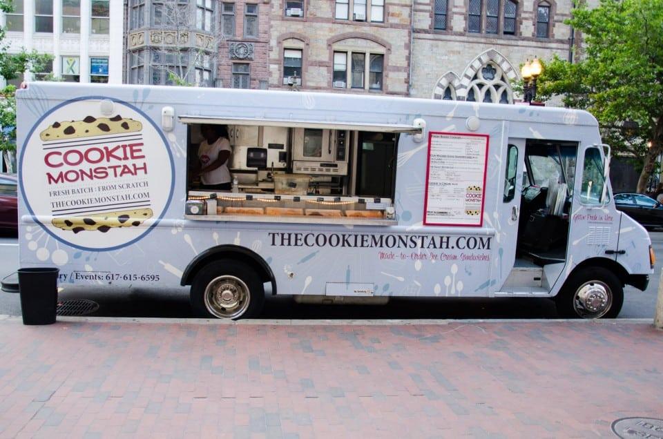 Cookie Food Truck Boston