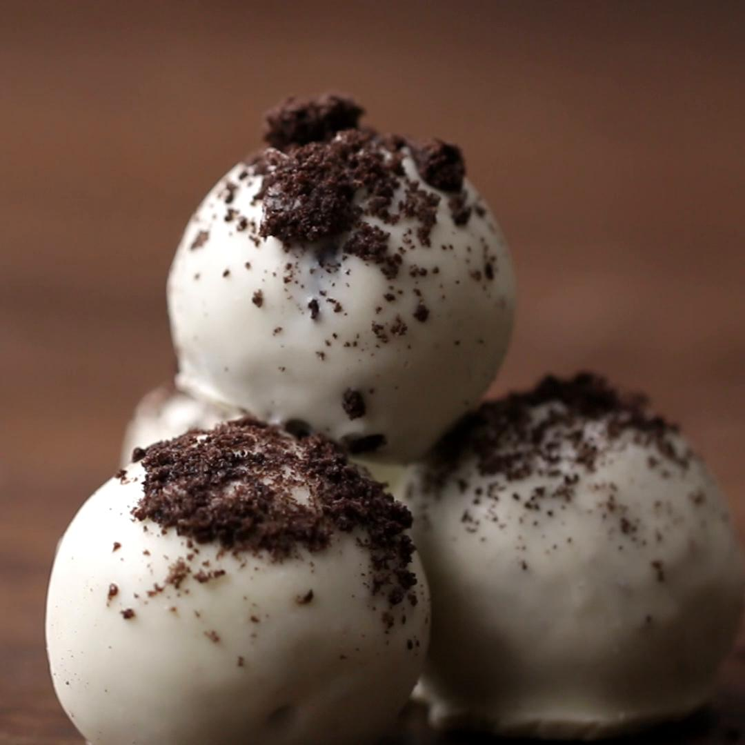Cookies & Cream Truffles Easy Dessert Recipe By Tasty