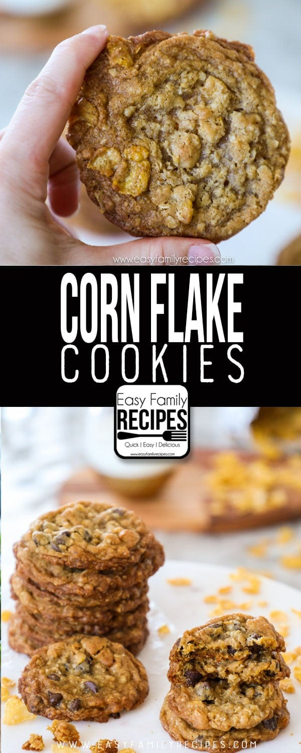 Cornflake Cookies · Easy Family Recipes