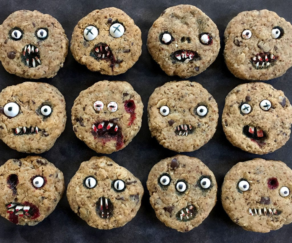 Creepy Chocolate Chip Cookies  3 Steps (with Pictures)