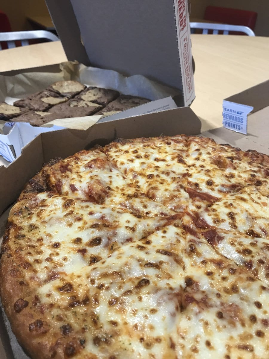 Domino's Pizza On Twitter   Came For The Cheese Pizza, Stayed For
