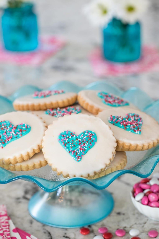 Easy Decorated Shortbread Cookies