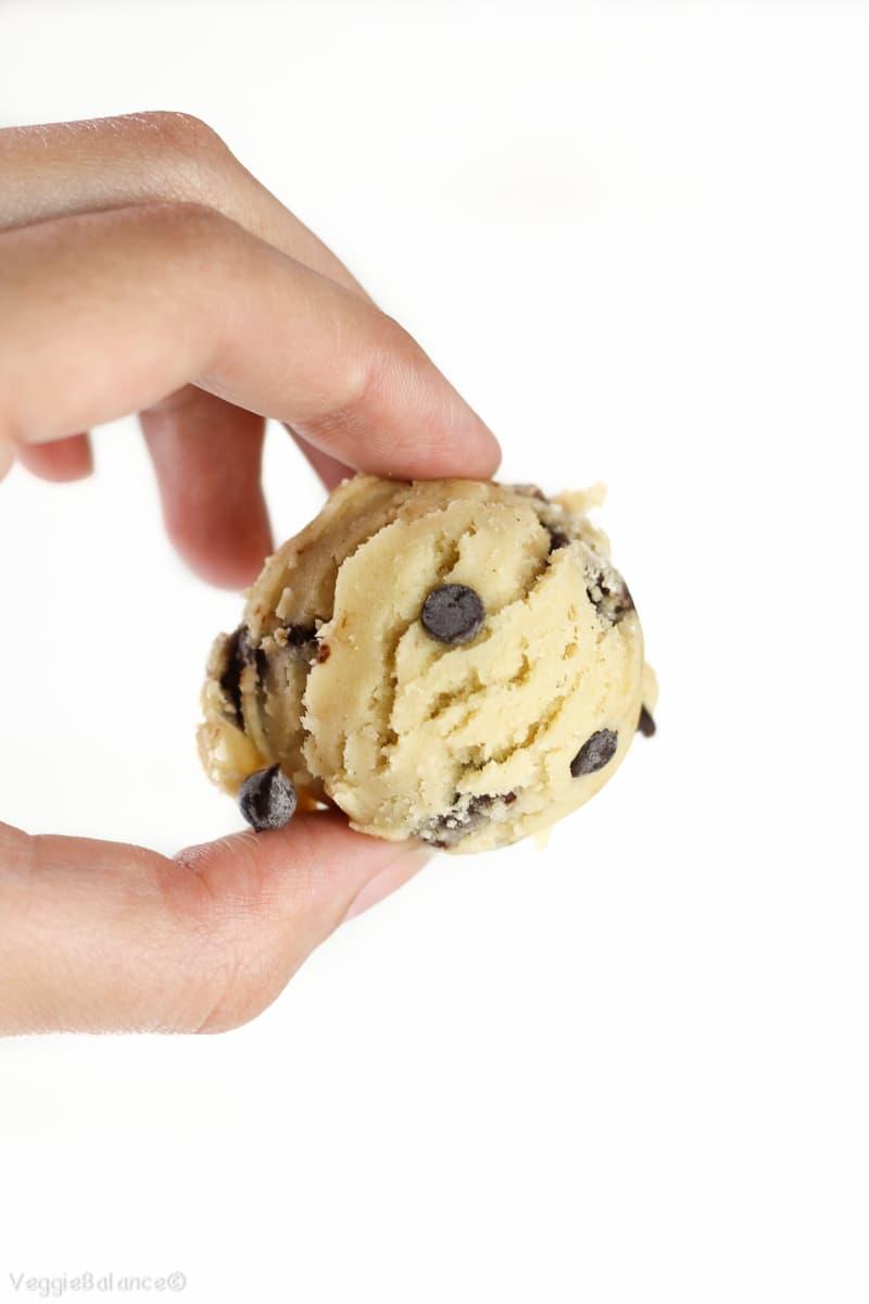 Edible Cookie Dough (eggless, Gluten Free)
