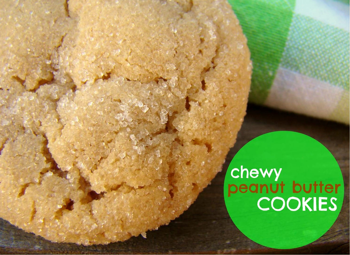 Family Feedbag  Chewy Peanut Butter Cookies