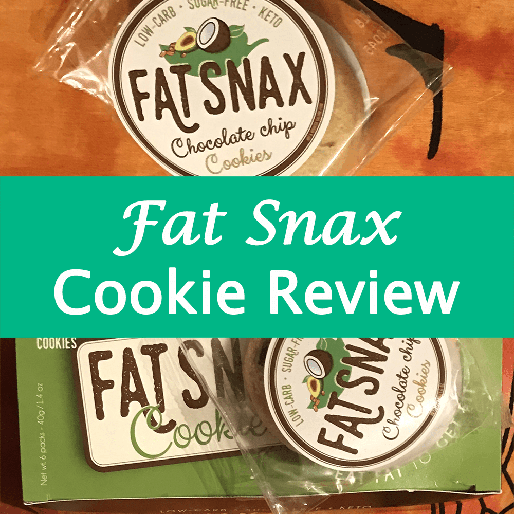 Fat Snax Keto Cookie Review