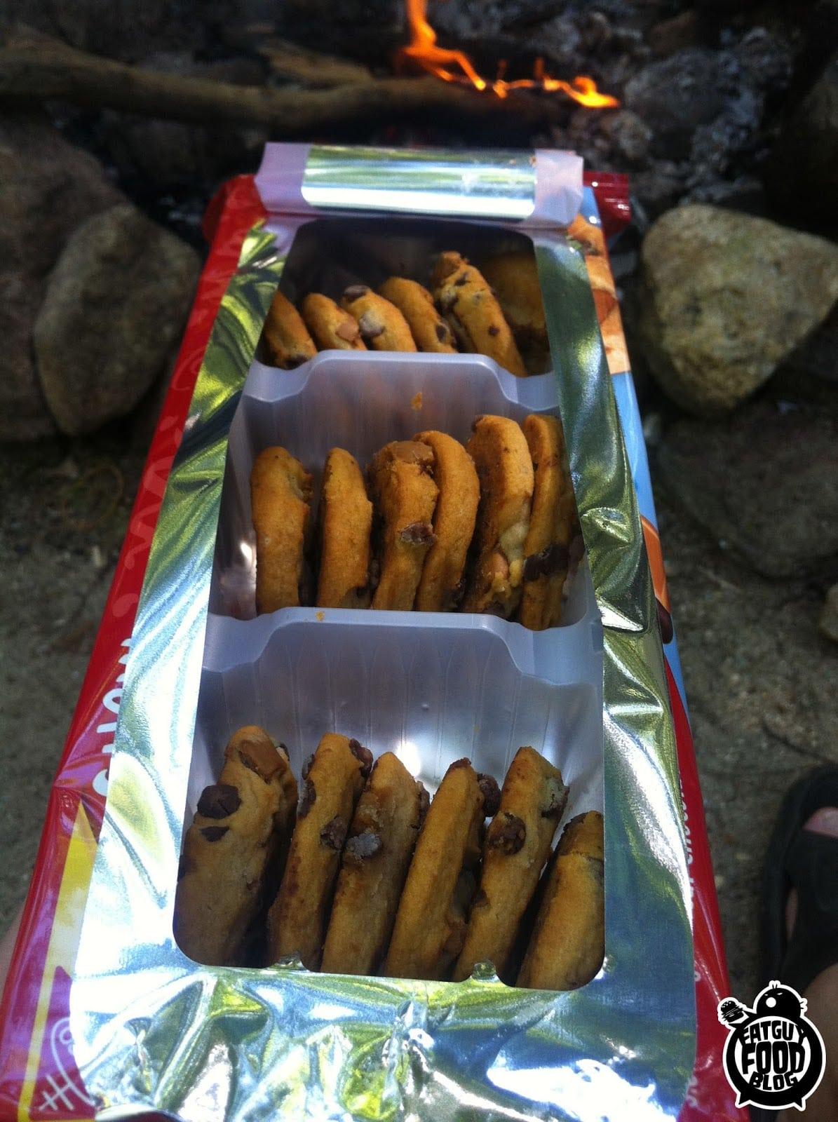 Fatguyfoodblog  2 New Chewy Chips Ahoy Cookies  Sweet N' Salty