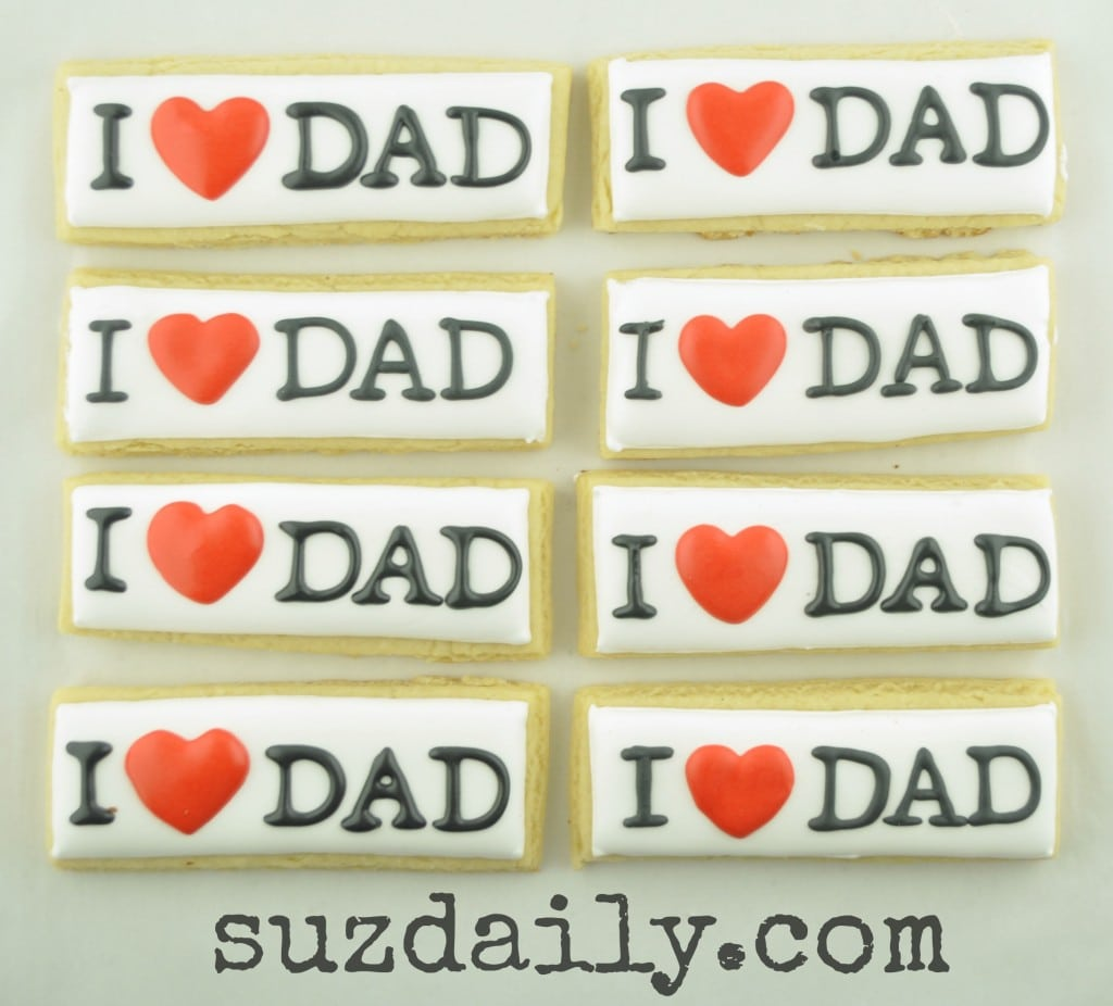 Father's Day Cookies – Suz Daily
