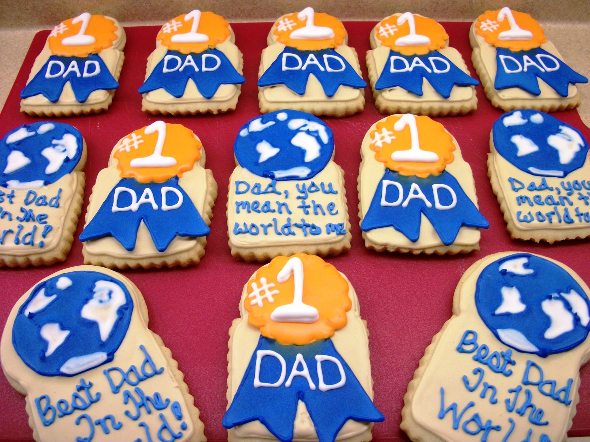 Fathers Day Cookies