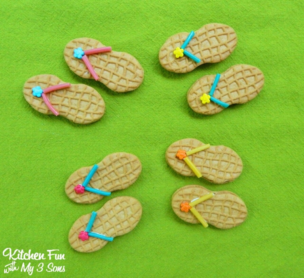 Flip Flop Cookies With A Free  Have A Great Summer  Printable