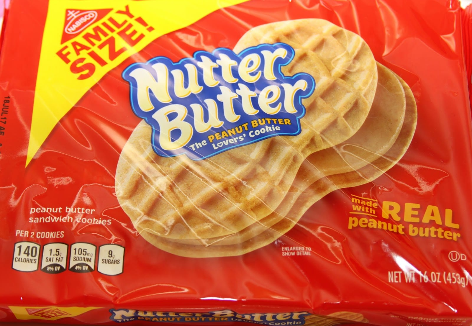 For The Love Of Food  Nutter Butter Baby Face Cookies