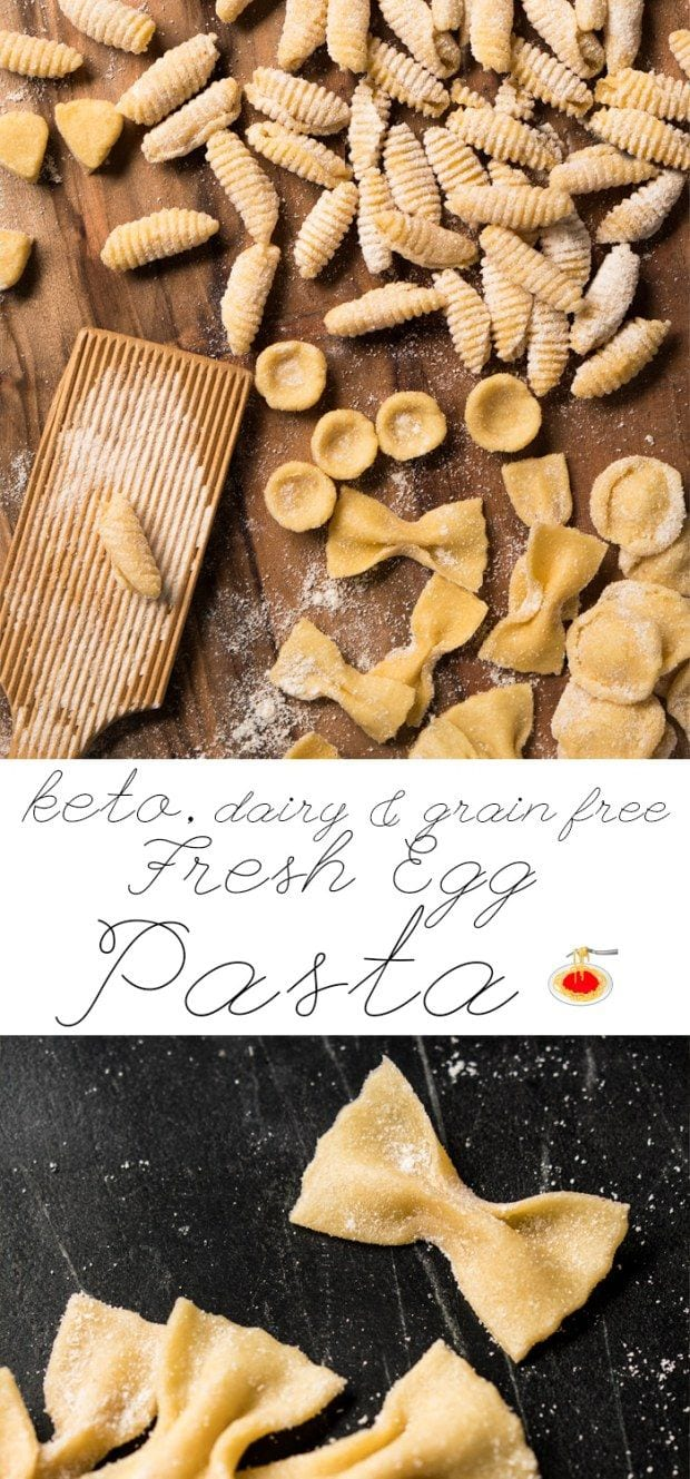 Fresh Egg Grain Free & Keto Pasta 🍝 Just 4g Net Carbs A Serving