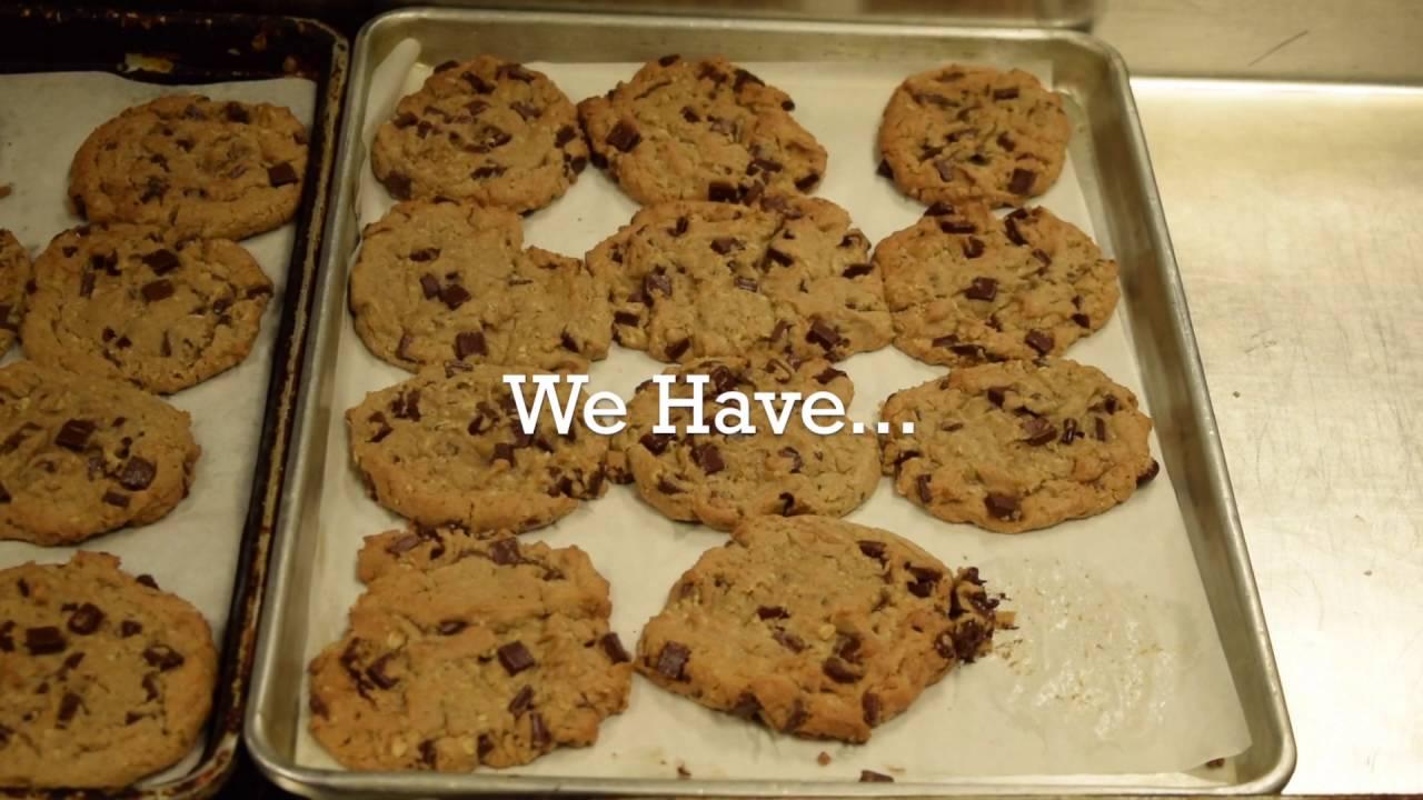 Freshly Baked Chocolate Chunk Cookies