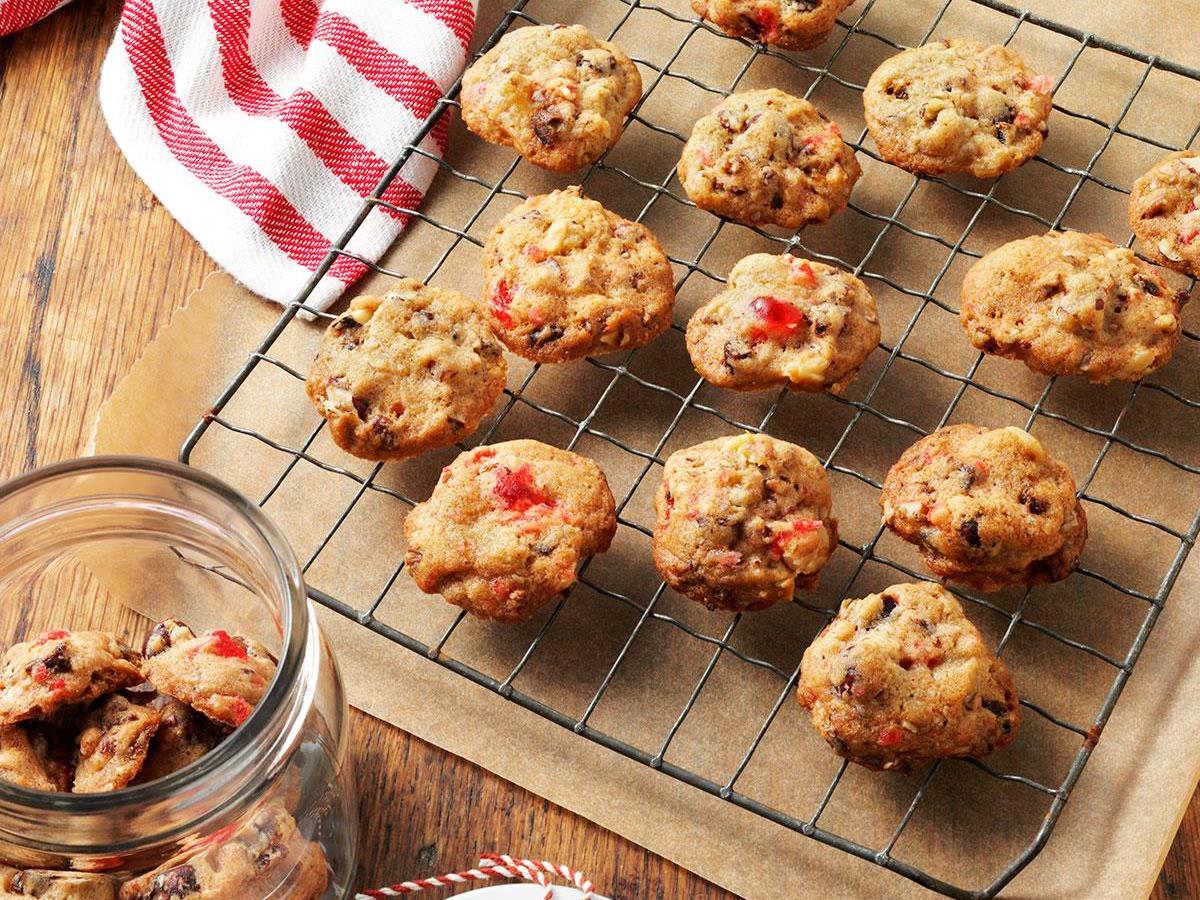 Fruitcake Christmas Cookies Recipe