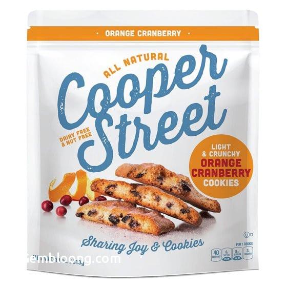 Fruitcake Cookies Southern Living Cooper Street Orange Cranberry